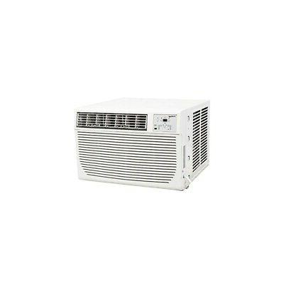 8000 BTU Window AC Unit w/ 3500 BTU Heater, 115V Standard Ai
