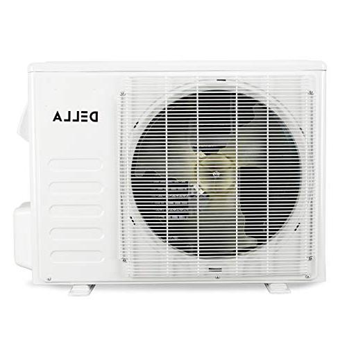 DELLA Wall-Mounted Conditioner Heat Pump AHRI Certified w/ Kit,