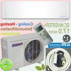 PIONEER 9000 BTU 17 SEER Inverter+ Ductless Mini Split Heat