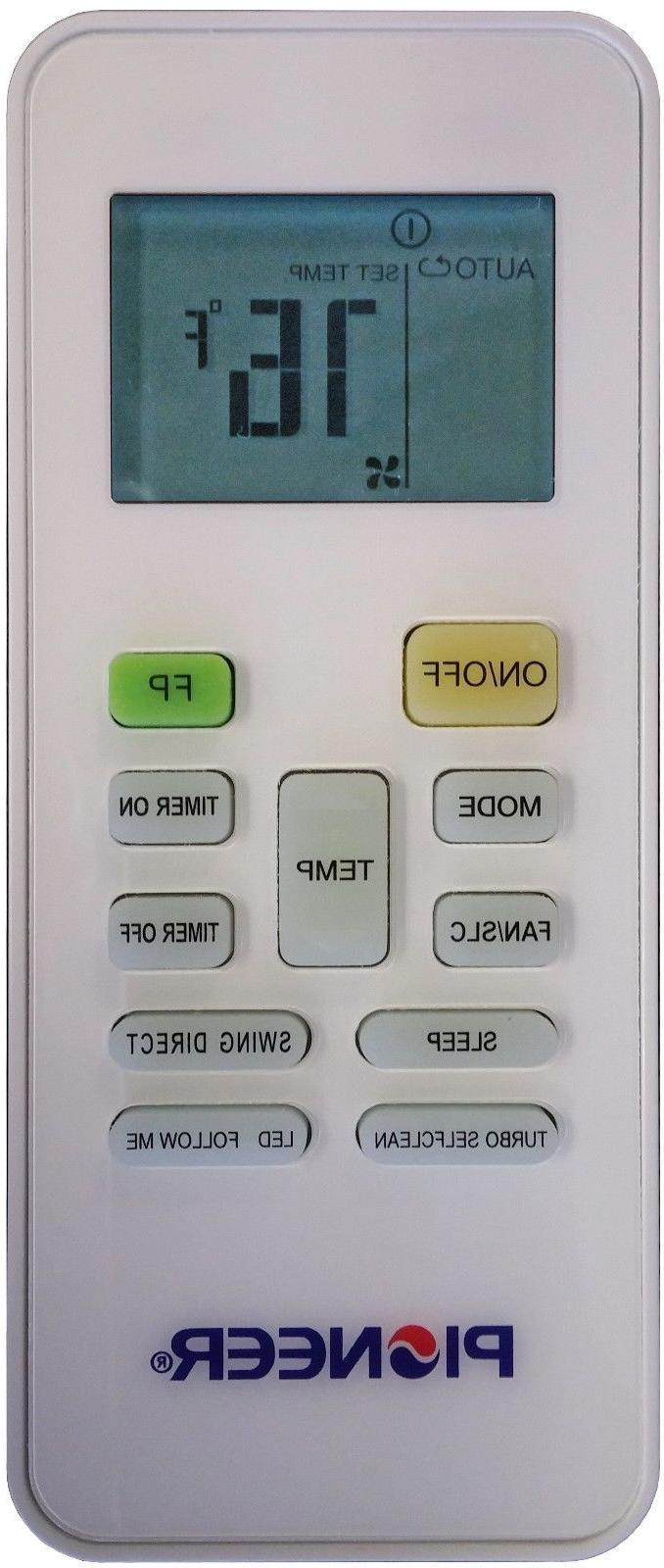 PIONEER 36000 SEER Mini