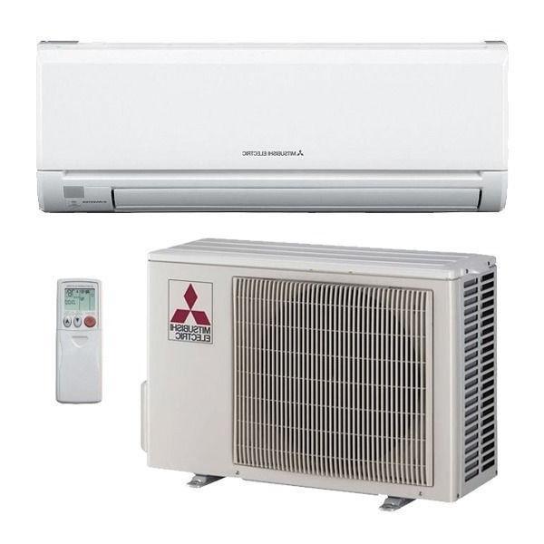 9000 btu mitsubishi mr slim ductless split air conditioner. Black Bedroom Furniture Sets. Home Design Ideas
