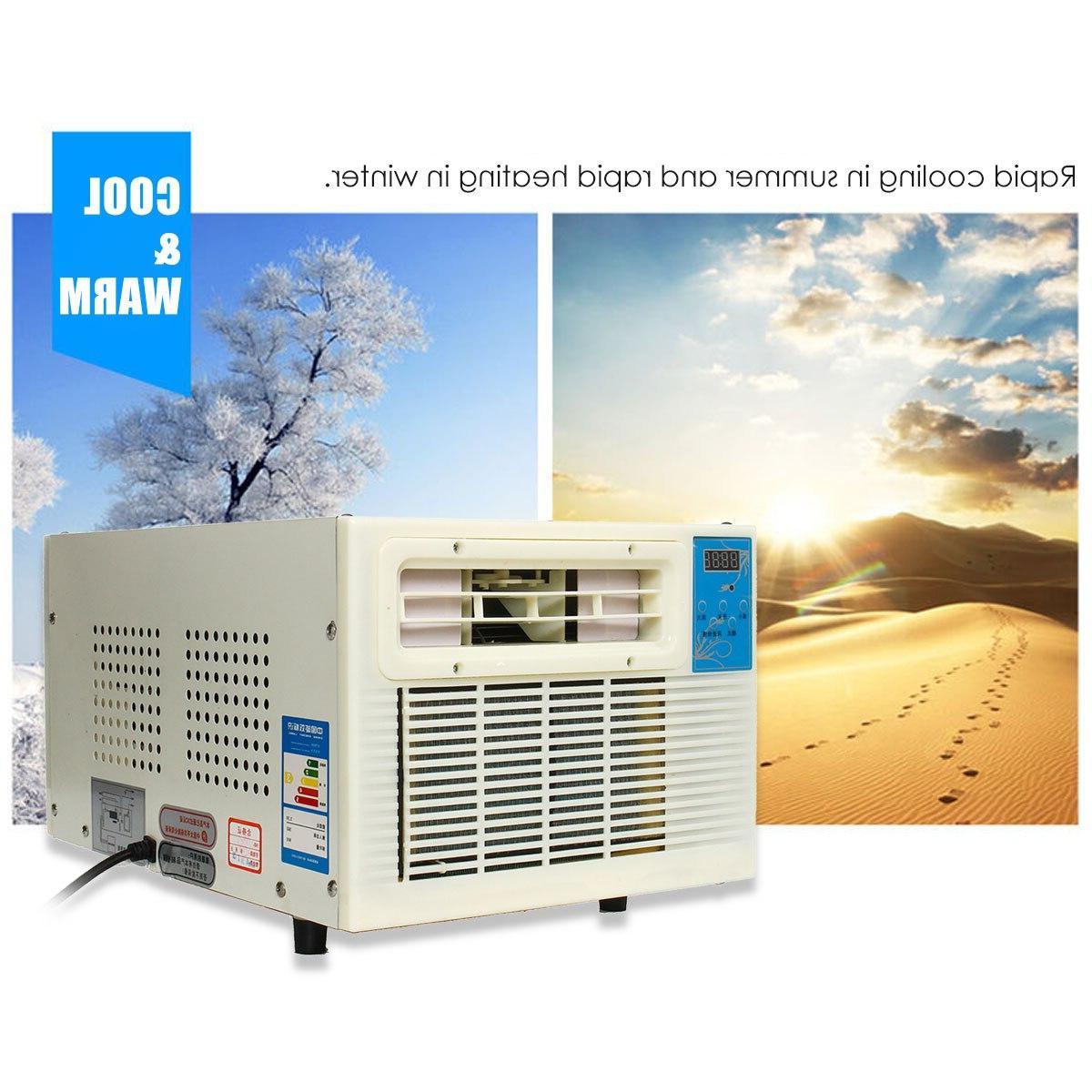900W 220V <font><b>Heater</b></font> <font><b>Air</b></font> <font><b>Conditioner</b></font> Desktop Cold/Heat Dual New