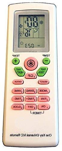 AC Remote Control For Carrier, Trane, Toshiba, Sanyo, Mitsub