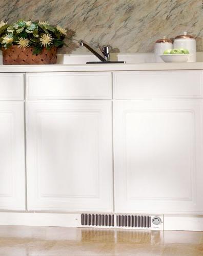 Broan 112 Kick Heater Kickspace Heaters Thermostat; White