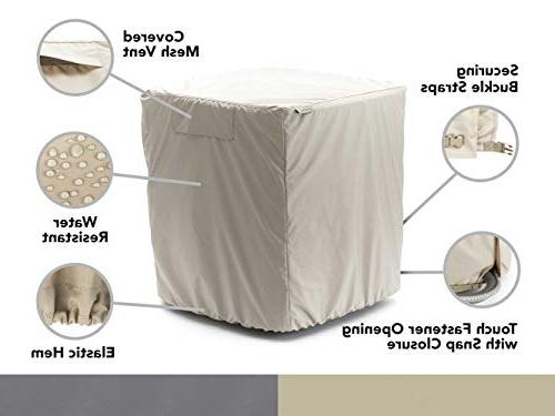 Covermates Cover Width x 30 Elite Polyester Vent For Back YR Warranty