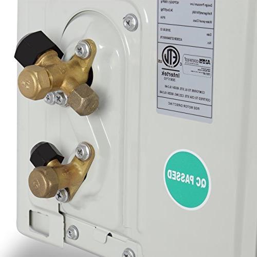 DELLA BTU Wall Mount System Remote + Conditioner w/Heat