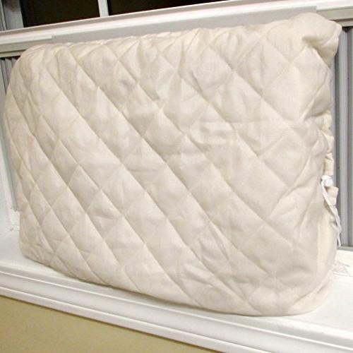 Evelots Air Cover-Indoor-Quilted-Heat in-Cold Air