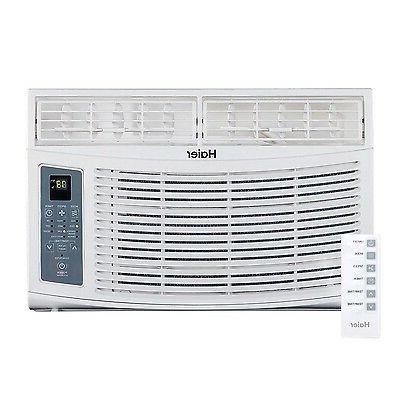 Haier - 6000-BTU Electronic Remote Control Air Conditioner,