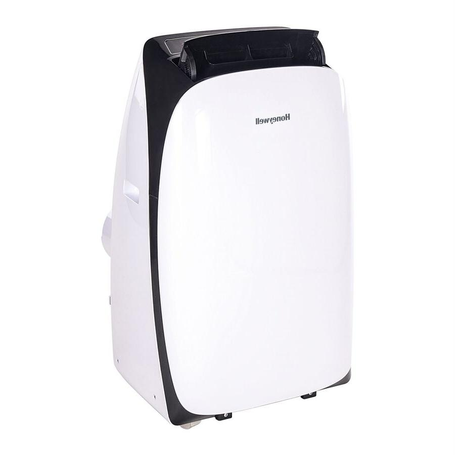 Honeywell - 12,000 Btu Portable Air Conditioner - Black/whit