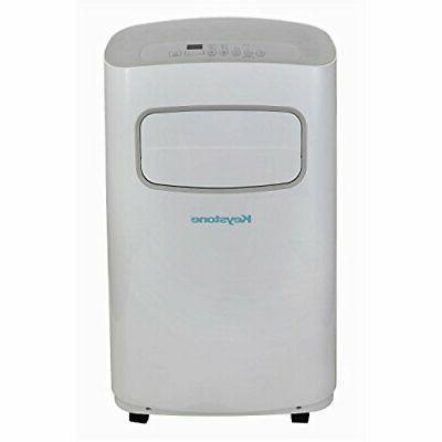 Keystone - 12,000 Btu Portable Air Conditioner - White/gray