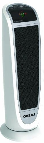 Lasko Tower Ceramic Heater with All NEW Patented Comfort Sys