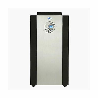 Whynter - 14,000 Btu Portable Air Conditioner - Platinum/bla
