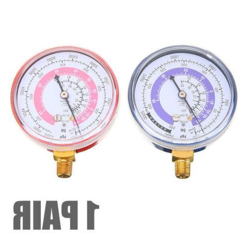 A/C Air Conditioner R134A R22 Refrigerant Pressure PSI KPA