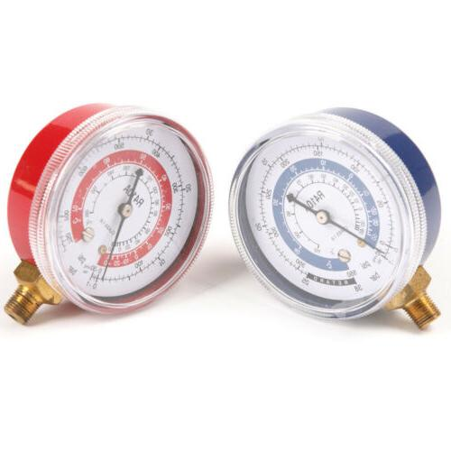 A/C Conditioner R134A R22 Refrigerant Pressure