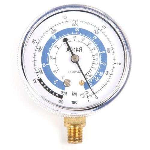 A/C Air R410A R134A R22 Refrigerant Pressure Gauge PSI