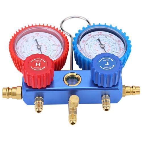 Manifold Gauge Air Conditioner Refrigerant Maintenance R22