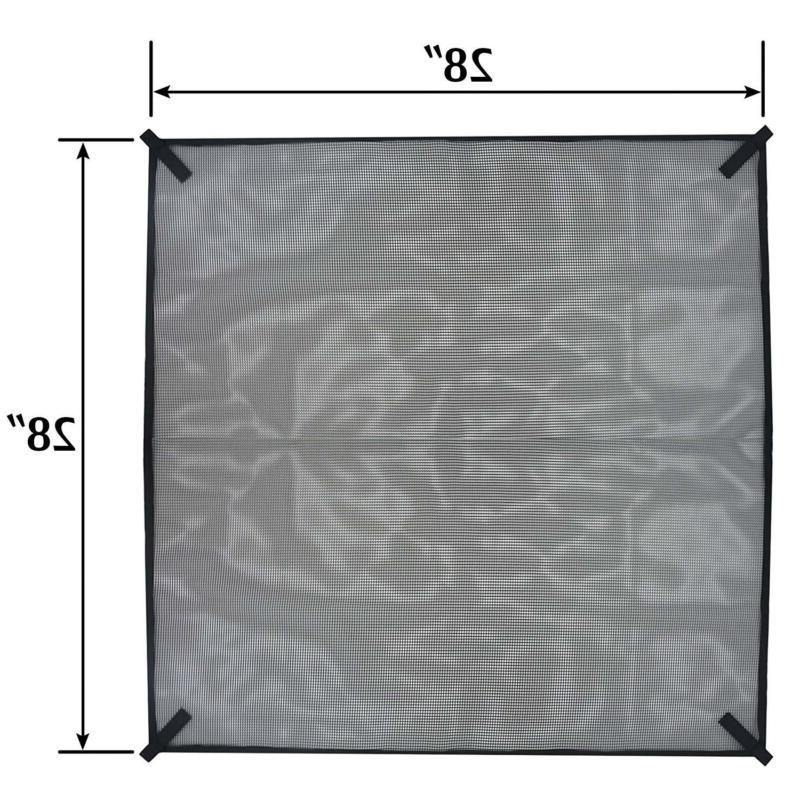 AC Cover Air Leaf Guard Open Mesh For