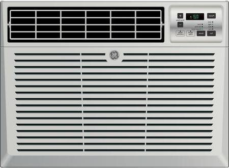 GE Window Air Conditioner 8000 Cooling BTU, Energy Qualified in Light Cool Gray