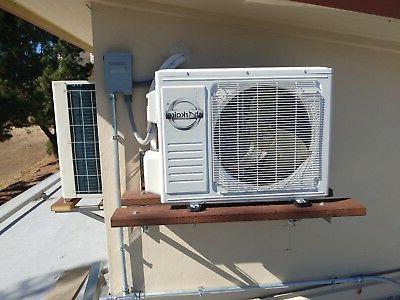 Air Conditioner,1 ton Mini Split, Heat Built in Wi-Fi