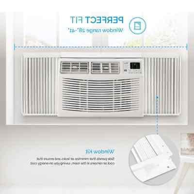 DELLA Air Conditioner BTU Window Mounted W/ Remote Quiete