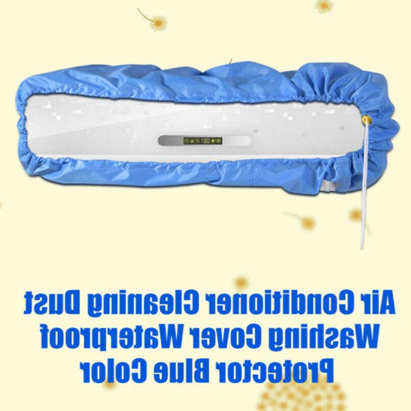 Air Conditioner Protector Cleaning Dust Washing Cover