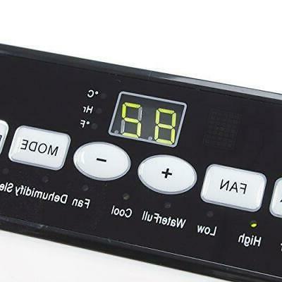 DELLA Fan 10000 Dehumidifier A/C Remote