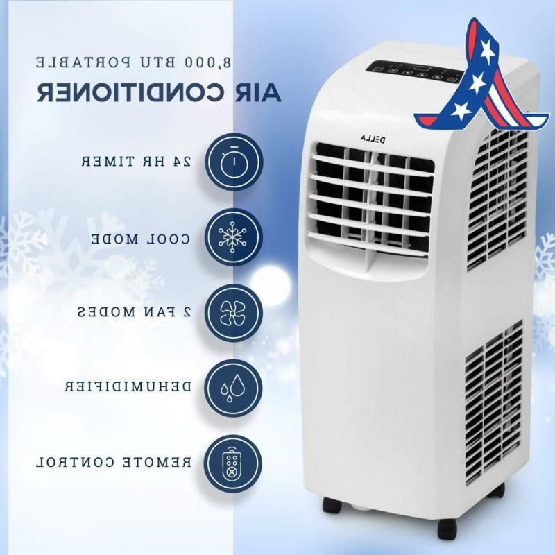 Della Air Cooling Fan 8,000 Btu Portable Dehumidifier