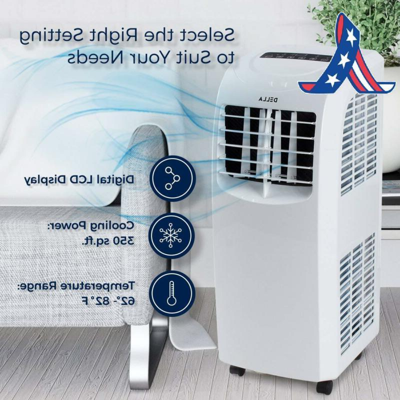 Della Air Fan Portable Dehumidifier Con