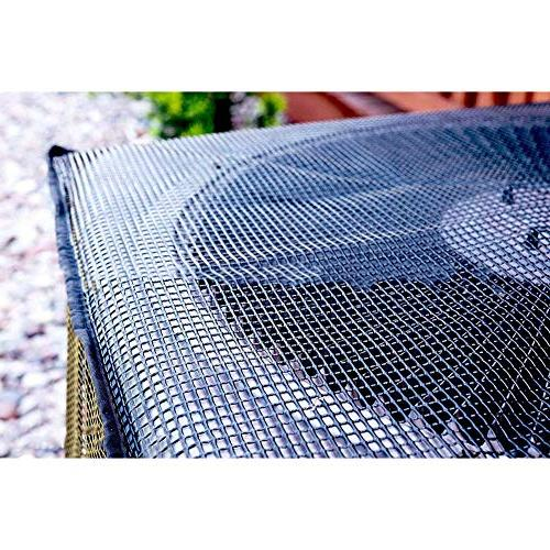 QEES Conditioner Cover for Outside, Full Mesh Air Conditioner Cover, Cover, Outdoor Air JJZ112