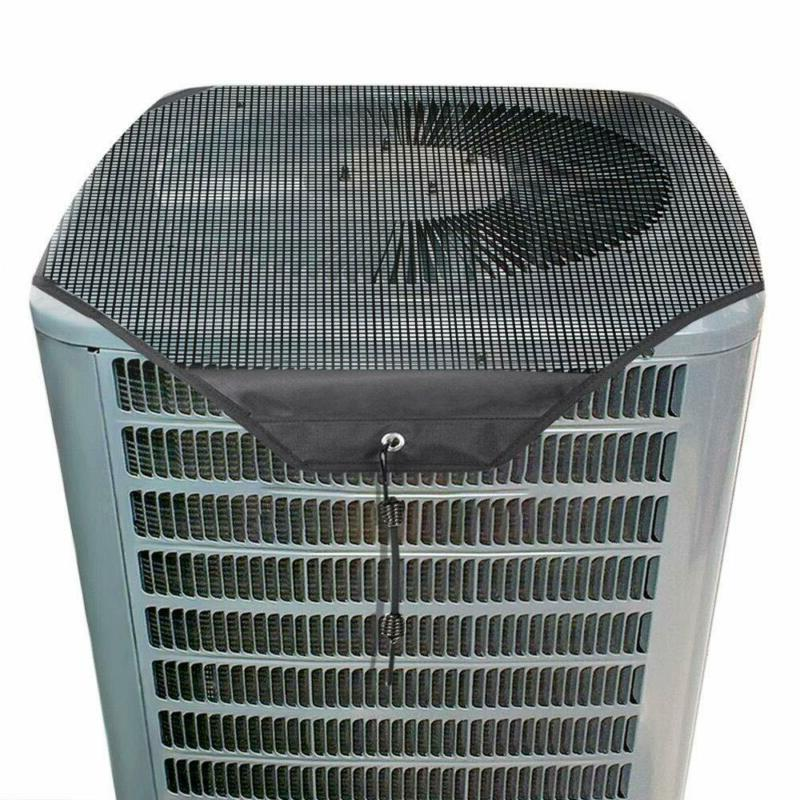 Air Conditioner Cover Mesh Leaf Guard All Season Universal D