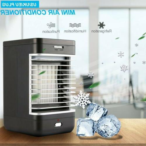 Portable Summer Cooling Air Conditioner Fan Humidifier Artic