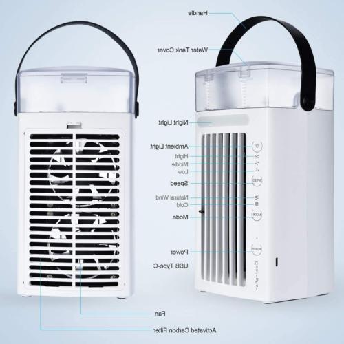 Air Conditioner Desk Cooler Portable Cooling Fan