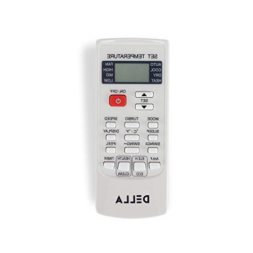 DELLA Inverter Mini System AHRI Certified AC Heat Set - BTU 22 SEER