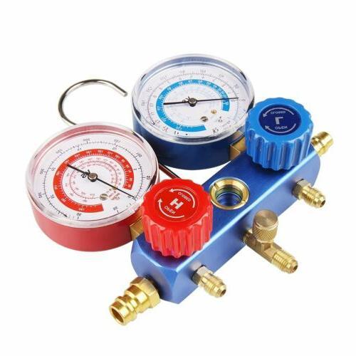 Air Refrigeration A/C Manifold R12 R22 Kit