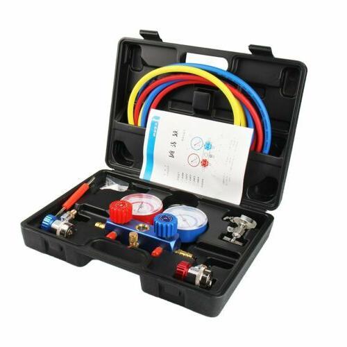 Air A/C Manifold R12 R134a Kit