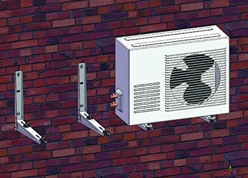 Air Conditioner Mount Bracket System Mini
