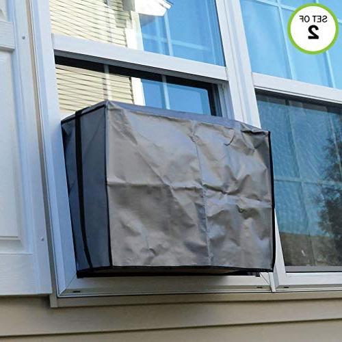 Evelots Window Cover-Elastic 15K BTU-Set/2