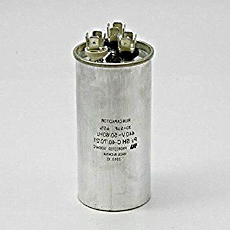 Air Conditioning Hvac Round Dual Motor Run Capacitor