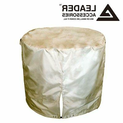 All Weather Protect Outdoor Air Conditioner Cover Patio Roun