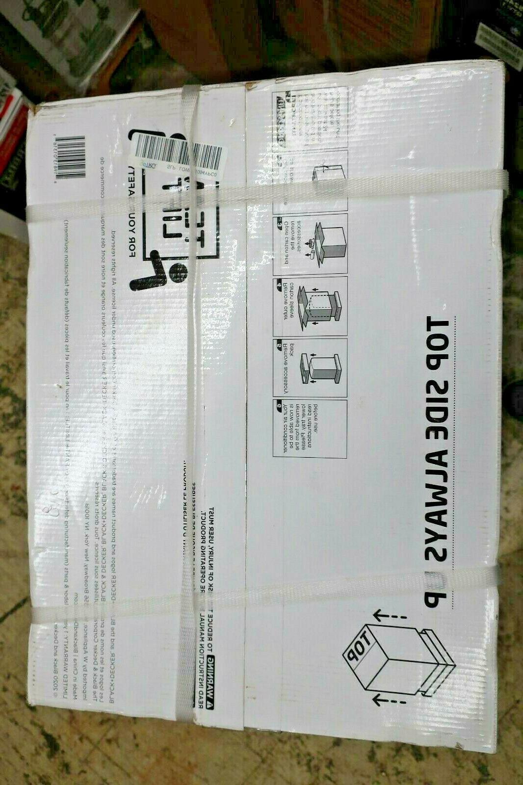 Black Decker Portable BTU BPACT10WT *