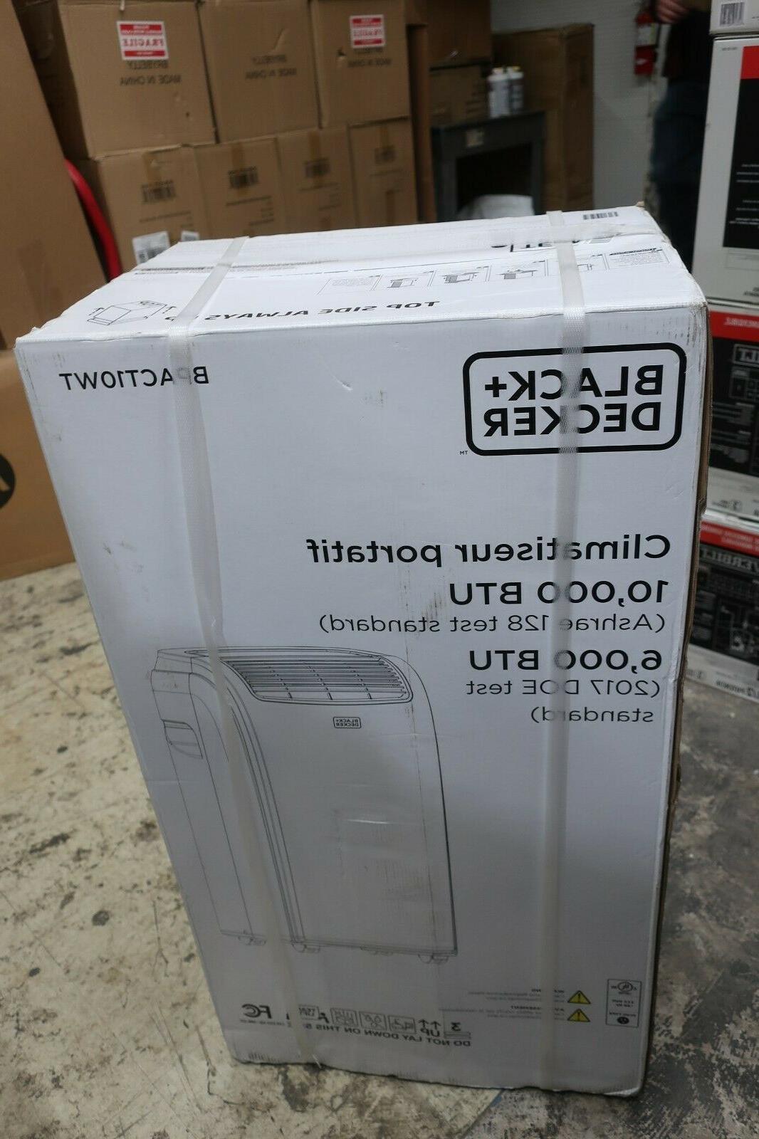 Black Portable Conditioner BTU