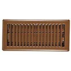 2 1/4X10 Brn Floor Register