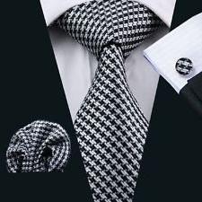 Dan Smatree Bussiness Menโ€™s Silk Neckties Tie and Han