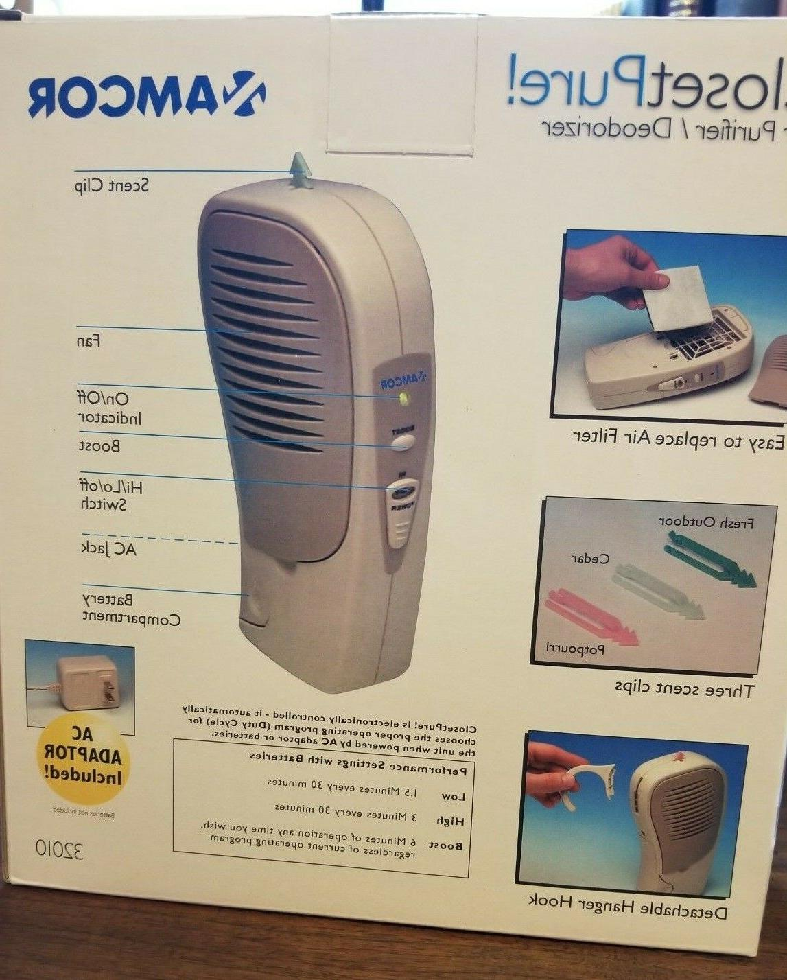 Amcor Air Deodorizer w/3 Scents