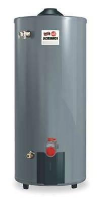 Rheem-Ruud 100 gal. Commercial Gas Water Heater, NG, 76000 B