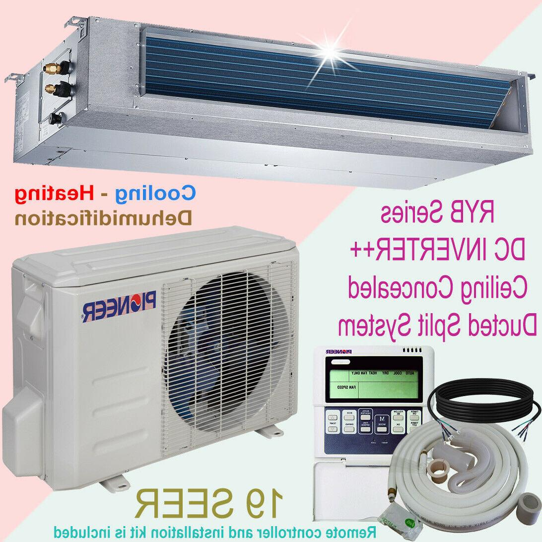 Pioneer Concealed Duct Mini Split Inverter Air Conditioner Manual Guide