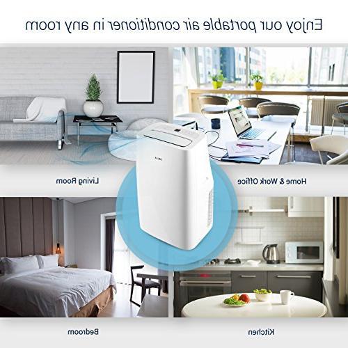 DELLA Portable Air Conditioner Cool for 400 Ft. Control,