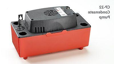 cp 22 condensate pump 120v air conditioner