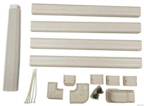 decorative pvc line cover kit for mini