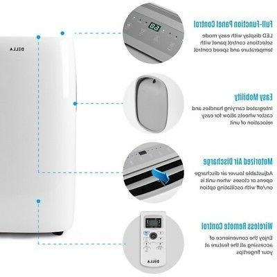 DELLA 10,000 Listed Energy Portable Air White